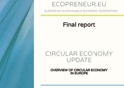 Circular Economy update