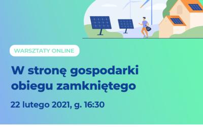 Warsztat online: Europejski Zielony Ład – w stronę GOZ
