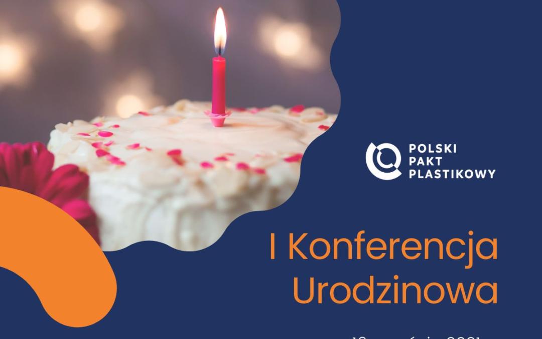 Konferencja urodzinowa Polskiego Paktu Plastikowego